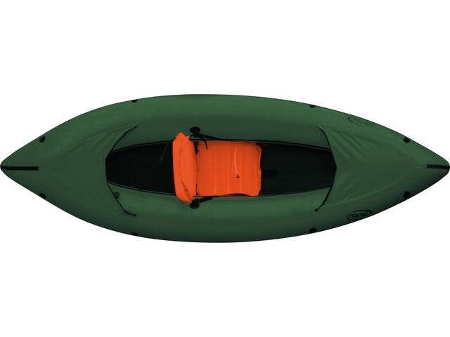nortik Family-Raft Vene, dark green/black